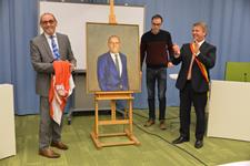 Onthulling portret Luc Vanparys - Foto Geert Stubbe (grote weergave)